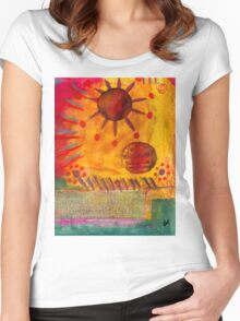 The Sun Shines on US the Same Women's Fitted Scoop T-Shirt