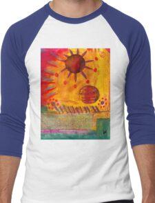 The Sun Shines on US the Same Men's Baseball ¾ T-Shirt