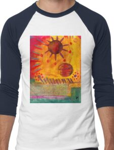The Sun Shines on US the Same Men's Baseball ¾ T-Shirt
