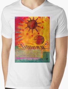 The Sun Shines on US the Same Mens V-Neck T-Shirt