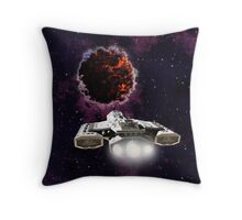 Outer Space Entity Throw Pillow