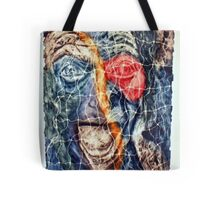 Divided Reality Tote Bag