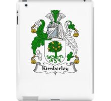 Coat of arms (family crest) for last-name or surname Kimberley . Heraldry banner for your name. iPad Case/Skin