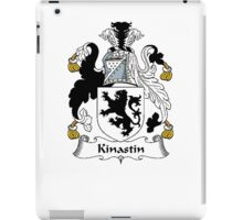 Coat of arms (family crest) for last-name or surname Kinastin or Kynastin . Heraldry banner for your name. iPad Case/Skin