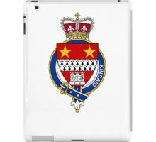 Coat of arms (family crest) for last-name or surname Kincaid (Scotland) . Heraldry banner for your name. iPad Case/Skin