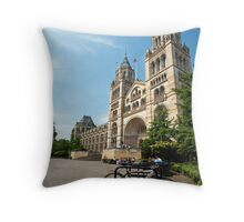 UK - London's Natural History Museum Throw Pillow
