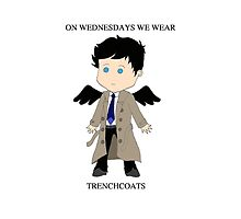 On Wednesdays We Wear Trenchcoats by LilRedWhoCould