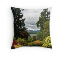 UK - Windermere viewed from Brockhole Throw Pillow
