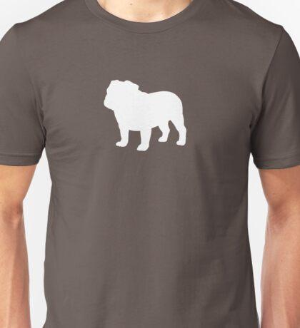Bulldog Silhouette(s) Unisex T-Shirt