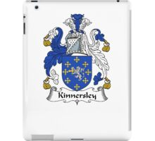 Coat of arms (family crest) for last-name or surname Kinnersley . Heraldry banner for your name. iPad Case/Skin