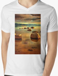 Tahoe Zen Mens V-Neck T-Shirt