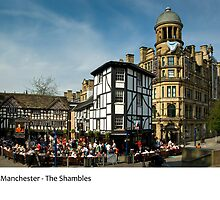 UK - Manchester, The Shambles by macondo