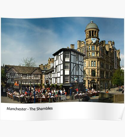 UK - Manchester, The Shambles Poster