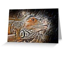 reptiles Greeting Card