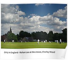 UK - 'Only in England': Cricket at Chorley Wood Poster