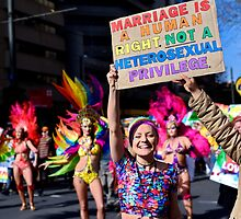 Marriage is a Human Right! by Robert Knapman