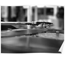 Romance with Vinyl Poster
