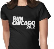 Run Chicago 26.2 Womens Fitted T-Shirt