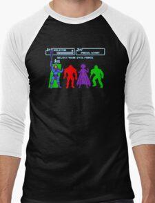 Select Your Evil Force Men's Baseball ¾ T-Shirt