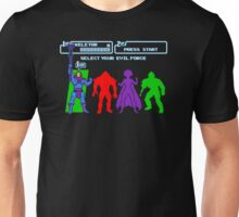 Select Your Evil Force Unisex T-Shirt