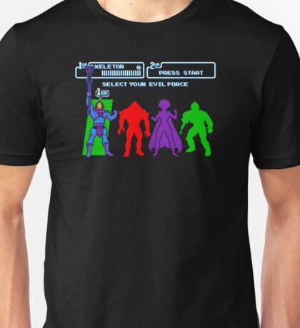 Select Your Evil Force Unisex T-Shirt