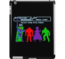Select Your Evil Force iPad Case/Skin