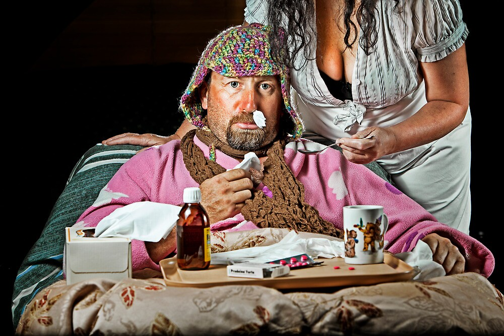 Man Flu! by Mick Smith