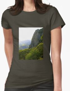 View from Mt Kaputar Womens Fitted T-Shirt