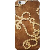 Pearls for Mrs. Dalloway iPhone Case/Skin