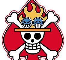 Portagas D Ace Logo by ColdCola