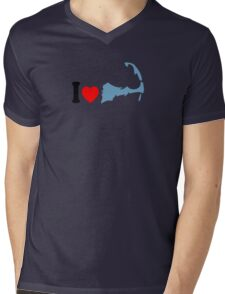 Cape Cod. Mens V-Neck T-Shirt