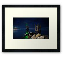 West Beach Silloth Framed Print