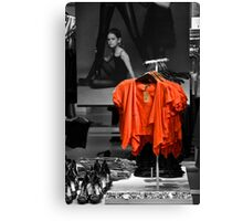 Red Selection Canvas Print