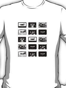 Audio Cassette Tapes (Black) T-Shirt