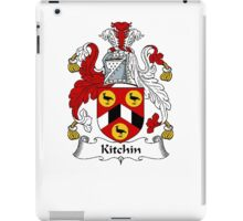 Coat of arms (family crest) for last-name or surname Kitchin . Heraldry banner for your name. iPad Case/Skin