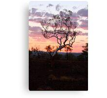 Sunset Karijini National park Canvas Print