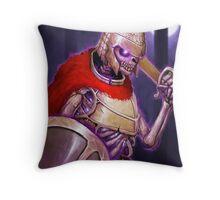 Skarkh The Undead Warrior Throw Pillow