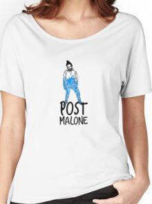 Post Malone  Women's Relaxed Fit T-Shirt