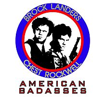 Brock and Chest, American Badasses Photographic Print