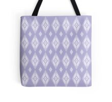 Lavender Diamonds Tote Bag