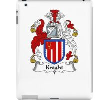 Coat of arms (family crest) for last-name or surname Knight . Heraldry banner for your name. iPad Case/Skin