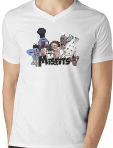 Misfit Toys Mens V-Neck T-Shirt
