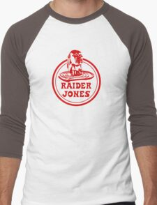 Raider Jones Men's Baseball ¾ T-Shirt