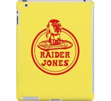 Raider Jones iPad Case/Skin