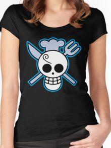 Sanji Logo Women's Fitted Scoop T-Shirt
