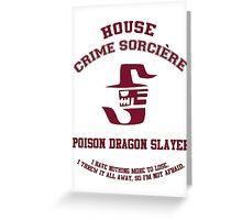 Poison Dragon Slayer - Normal Greeting Card