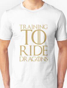 Training to Ride Dragons Unisex T-Shirt