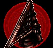 Red Pyramid Thing by Valhalla Halvorson