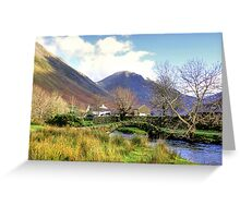 Packhorse Bridge - Wasdale Head #2 Greeting Card