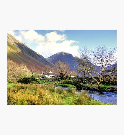 Packhorse Bridge - Wasdale Head #2 Photographic Print